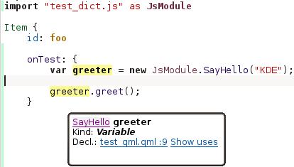 JS import, JS ctors, JS classes, type inference