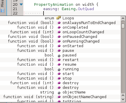 QML properties