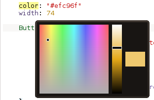 QML color picker