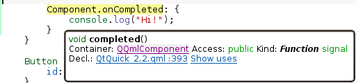 Component.onCompleted now recognized