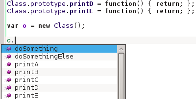 Functions recognized properly