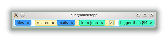 boxes in a QWidget