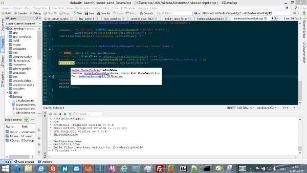 KDevelop 5 on Windows