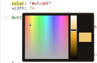 QML color chooser