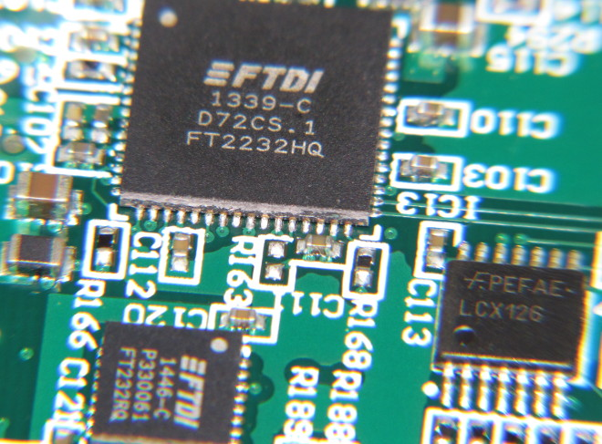 FTDI USB to serial chips