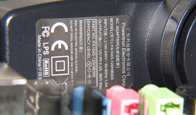 Nexys Video power supply